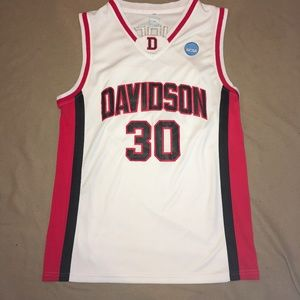 Stephen Curry #30 Davidson WildCats Jersey Limited